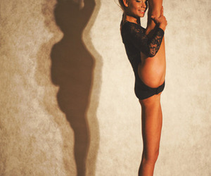 ballerina, black, and smile image