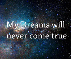 Dream, stars, and never image