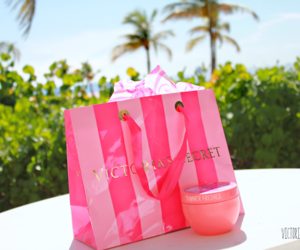 pink, Victoria's Secret, and summer image