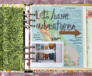 art journal, craft, and journal image