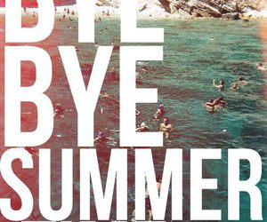 bye, summer, and fun image