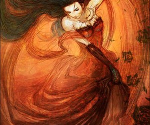 graceful, woman, and dance image