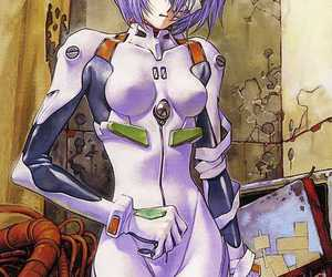 anime, evangelion, and ayanami rei image