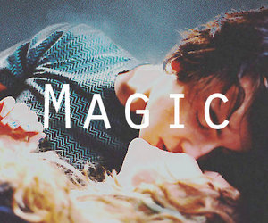 couple, magic, and love image