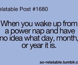 quote, funny, and nap image