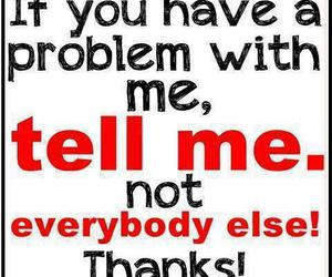 problem, quotes, and text image