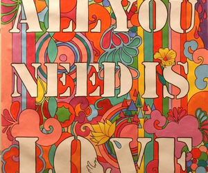 love, the beatles, and all you need is love image