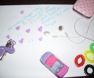 pink, purple, and things image