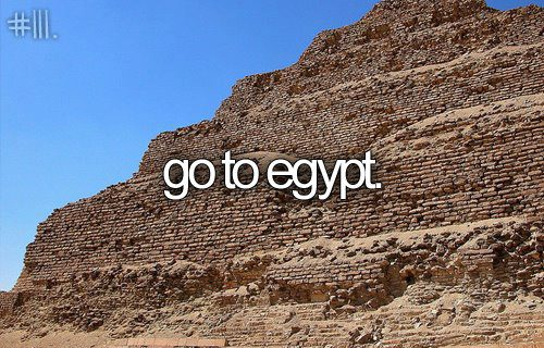 egypt, before i die, and travel image