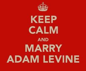 keep calm, adam levine, and maroon 5 image