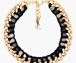 YSL, necklace, and gold image
