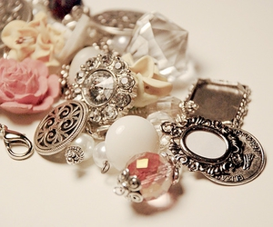 pink, jewelry, and rings image