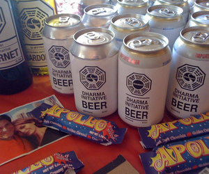 beer, dharma, and candy image