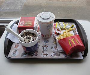 burger, food, and McDonald's image