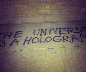 hologram and universe image