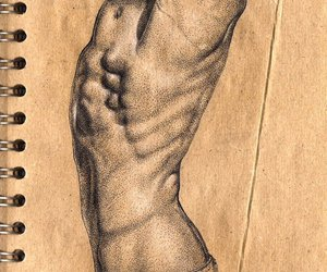 abs, art, and people image