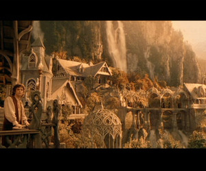 rivendell, lord of the rings, and frodo image