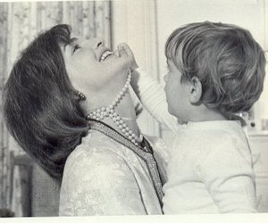 Jackie Kennedy and pearls image