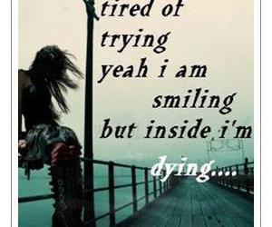 sad, dying, and crying image