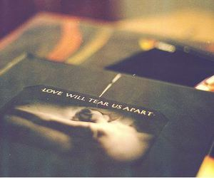book and love will tear us apart image