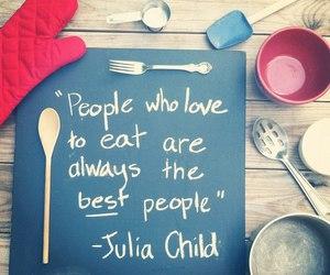 cook, julia child, and true image
