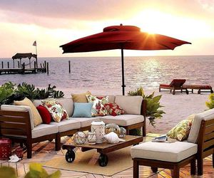 beach and decor image
