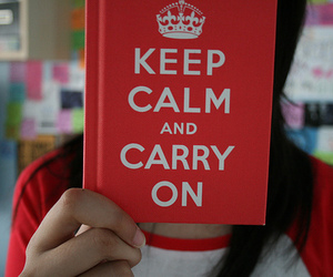 keep calm, photography, and book image