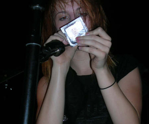 condom, hayley williams, and paramore image