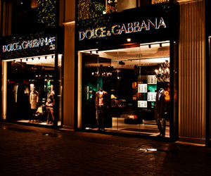 store, luxury, and Dolce & Gabbana image