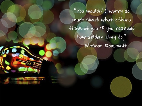 Eleanor Roosevelt Famous Quotes Sayings Worry Life