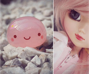 doll, jelly, and pink image