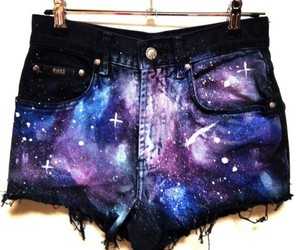galaxy, shorts, and short image