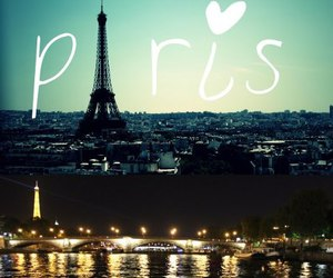 eiffel tower, landscape, and night image
