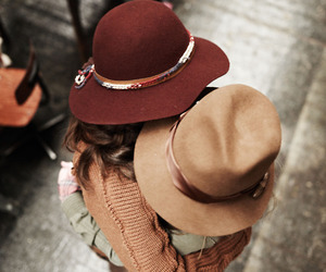 accessory, girlfriends, and hats image