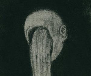 art, sadness, and boy image