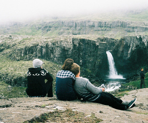 friends, nature, and boy image