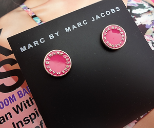 earrings, marc jacobs, and fashion image