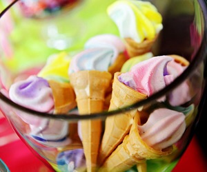 colorful, ice cream, and colours image