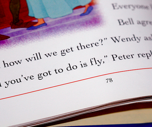 peter pan and quote image