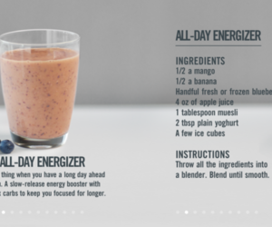 healthy, food, and smoothie image