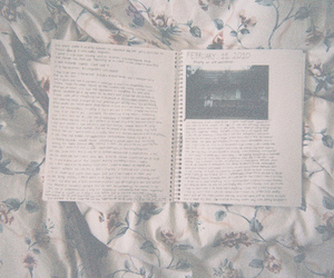 bed and notebook image