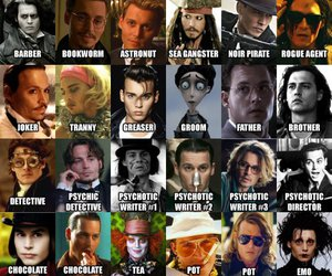 johnny depp and actor image