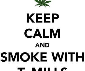 t mills and smoke image