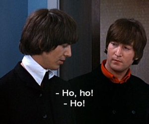george harrison, the beatles, and help! image