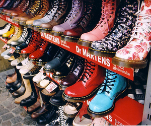 beautiful, color, and doc martens image