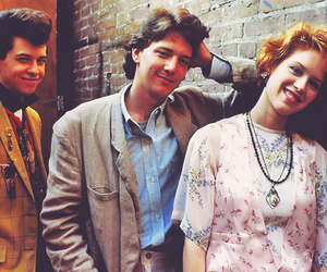Molly Ringwald, pretty in pink, and 80s image