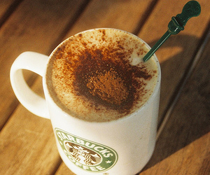coffee, starbucks, and cappuccino image