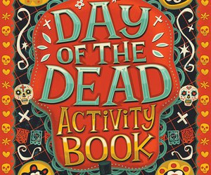 day of the dead, skull, and dia de los muertos image