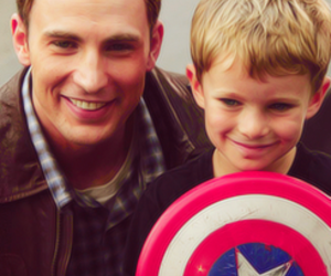 Avengers, cute, and captain america image