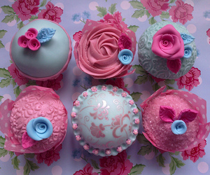 cath kidston, cupcakes, and pretty image